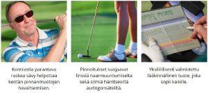 pro-golf-linssin-ominaisuudet